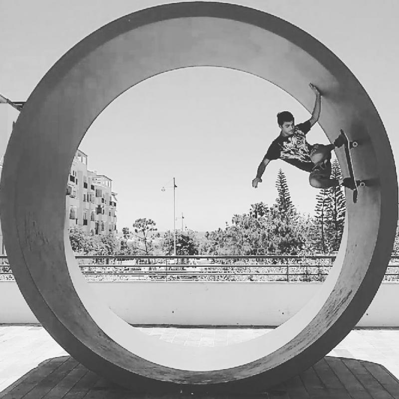 Skate full pipe costa del Sol