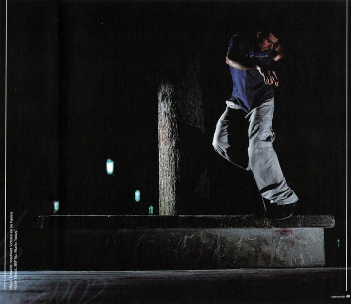 Backside nose blunt slide, macetero de safa. Miguel Urbina.