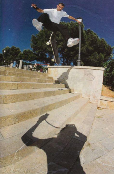 Flip 360 en las 8 de Safa. Miguel Urbina.