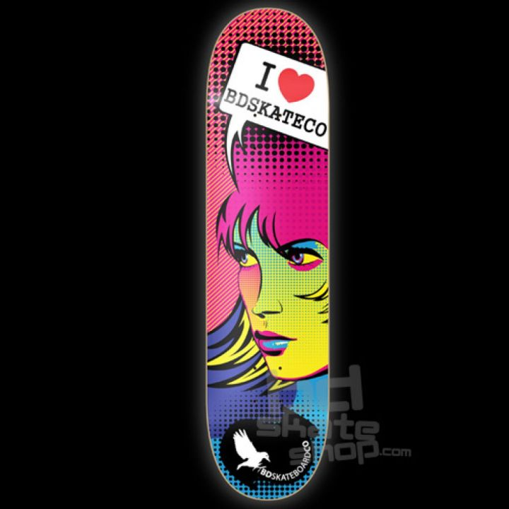 Tabla bd i love bd skate co
