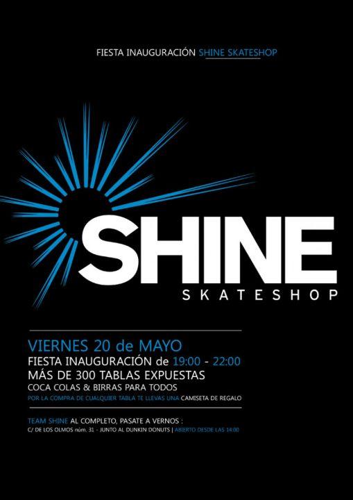 Fiesta inauguracion shine skateshop viernes 20 mayo c