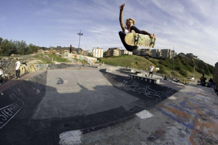 Patina: Benjamin Ostwald -Foto: Enrique Heredero -Truco: Fs Indy