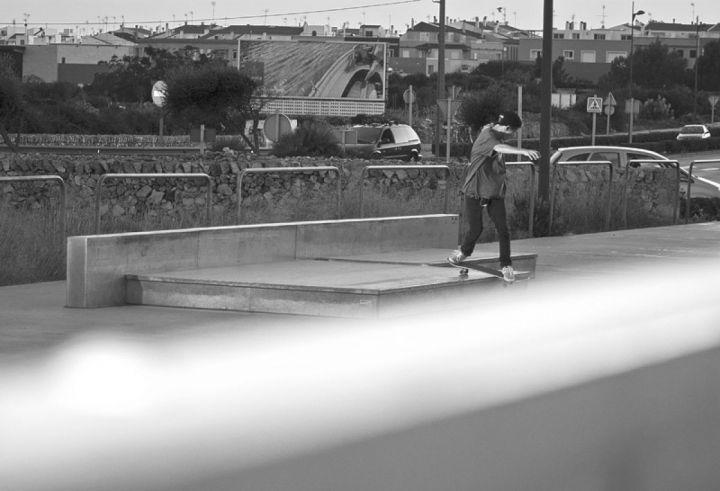 Dan florit bslipslide skatepark ciudadela menorca foto ivan