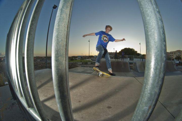 Dan florit smith grind miniramp skatepark ciudadela
