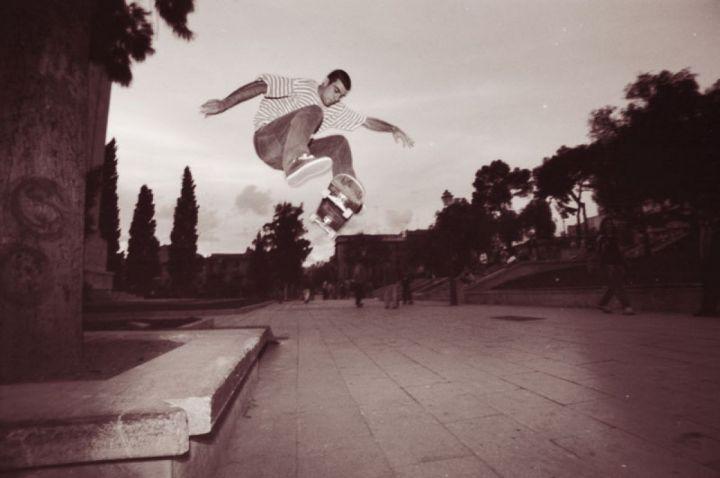 Miguel urbina fs flip sa faixina 1997 foto