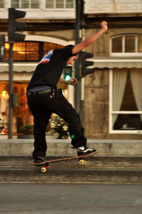 Manuel castro fakie ollie swith 5