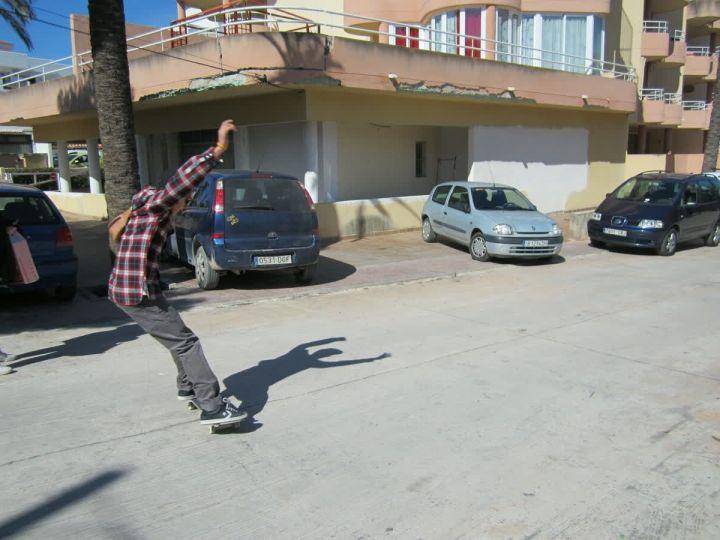 Powerslidefotorey enric castellano ibiza