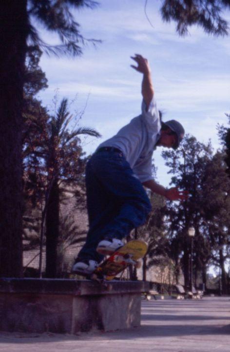 Javier cadavieco fk nosegrind sa faixina 1998 foto
