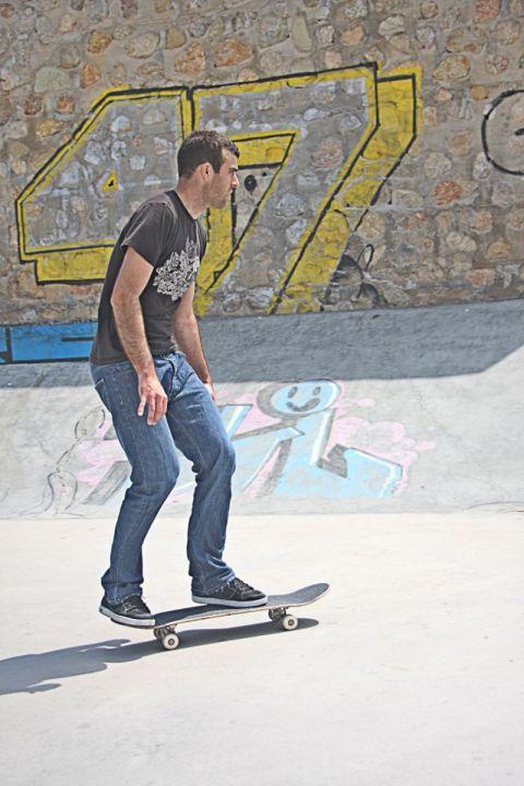 Miguel urbina flip 3 fakie