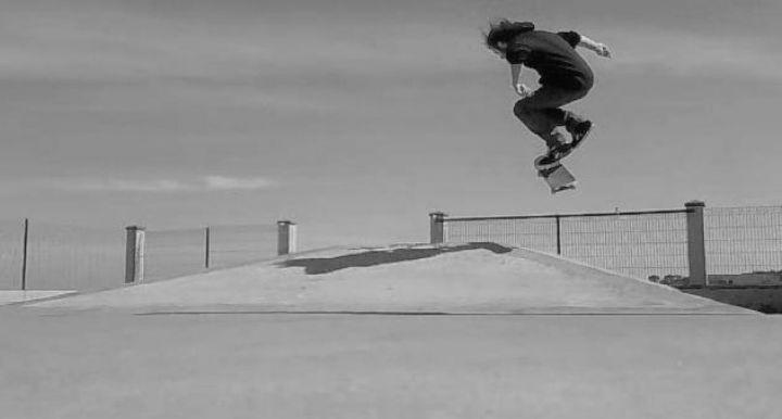 Lukas bs bigspin skatepark foz 2