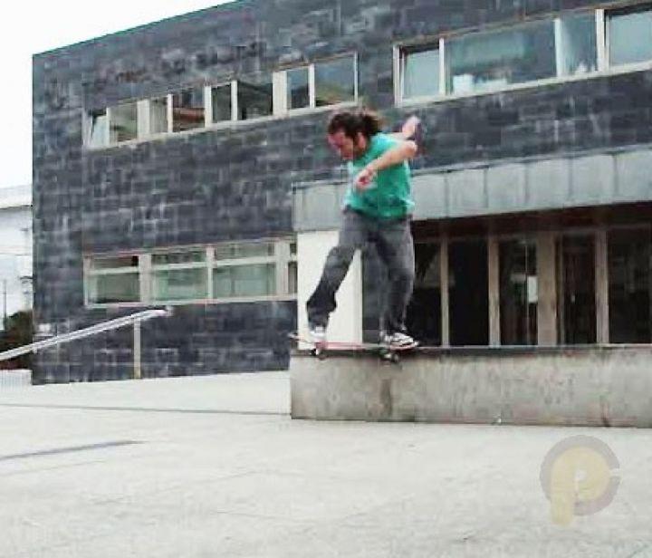 Lukas bs tailslide skatepark foz 2