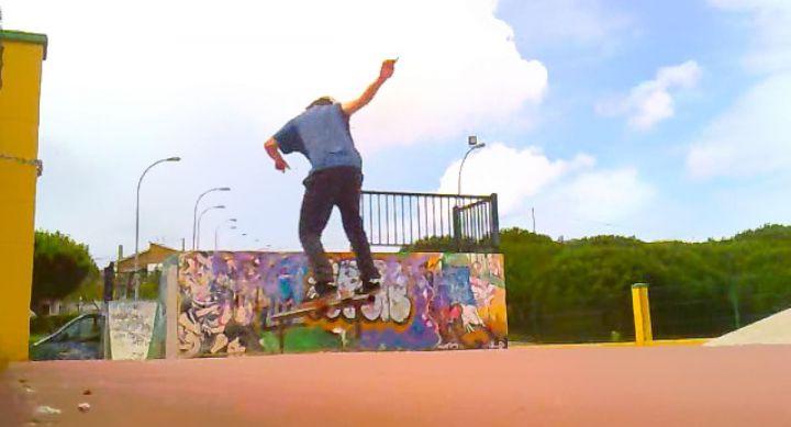 Lukas bs boardslide skatepark foz 1