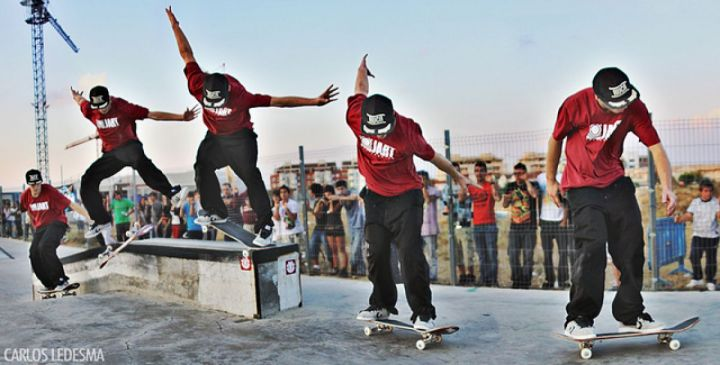 Carlos Neira - Flip BS Nosegrind
