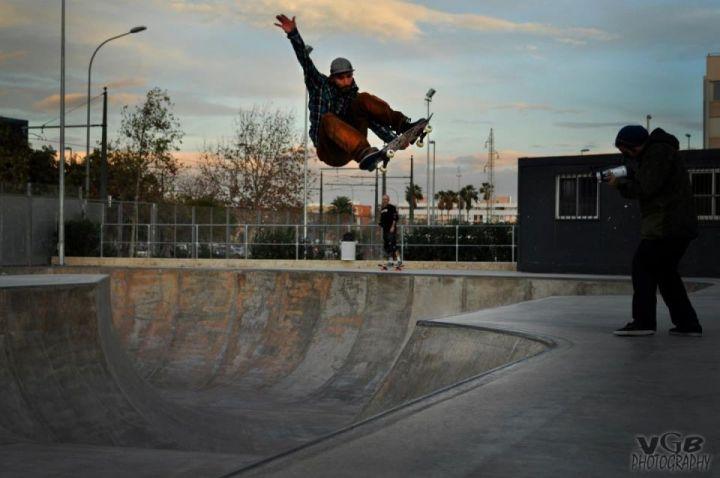skatepark Betero fs staisfish
