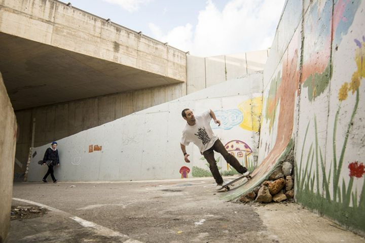 Ruben wallride grap out