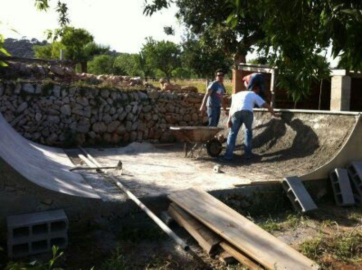 Minirampa casera Patina y Construye 2013