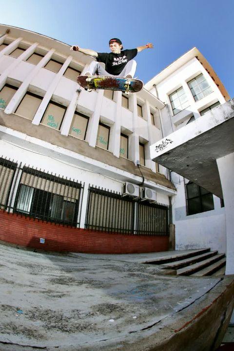 José Tercero - Ollie Gap desde el tejado