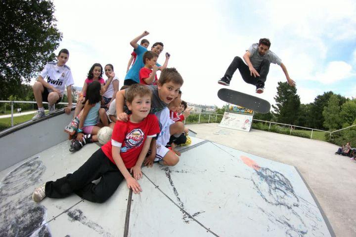 Rubén Cajaraville young fun fs flip