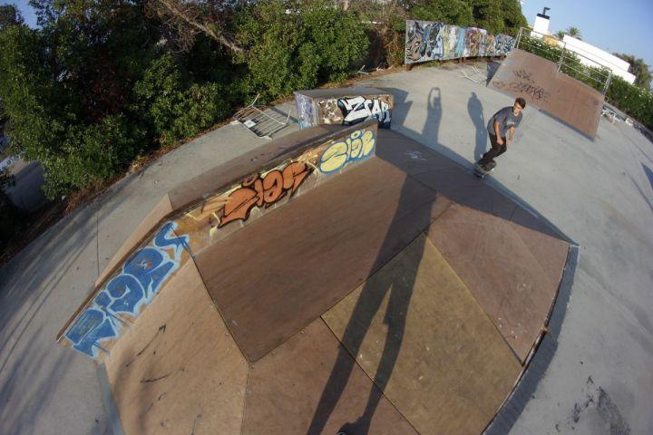 Bs lipeslide, Duncan Legoux, Skatepark Alcudia