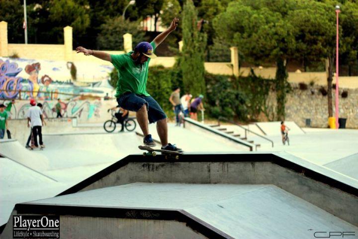 Nose slide, Nacho De Los Riscos