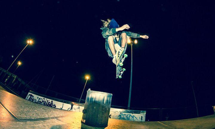 Hardflip - David Bereau. Skatepark Hondarribia.