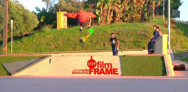 Fronside flip skatepark algeciras