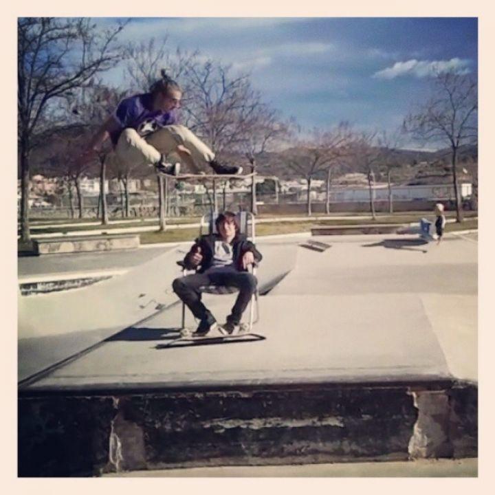 Melón de Fhire Garcia en el skatepark de Alcoy