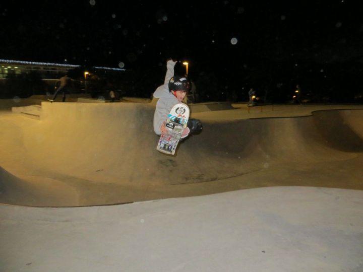 Ollie de Alain en Errentería (skatepark)
