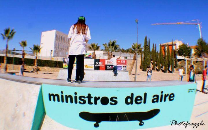 Miniramp skatepark La Cruz, Totana, Murcia