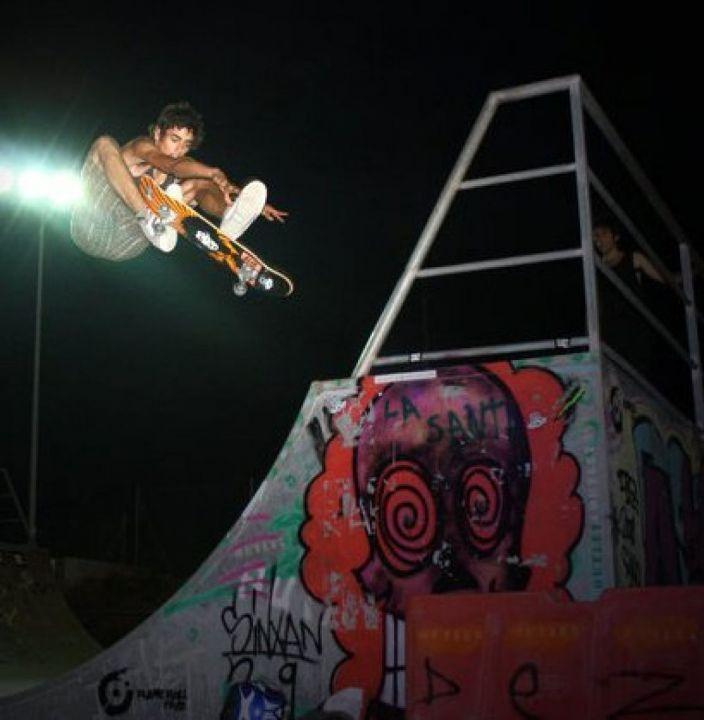 180º front side skate park ibiza