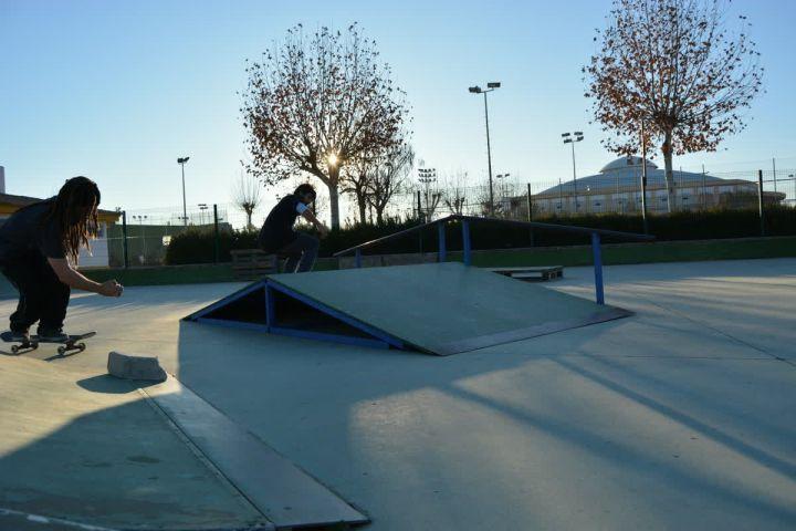 Nollie backside heelflip, David Escalera, Skatepark Écija.