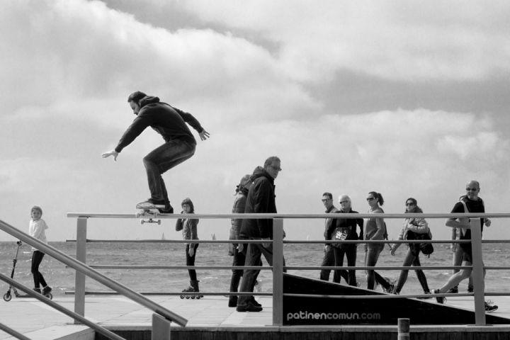 Boardslide de Andres, Molinar, Marzo 2016